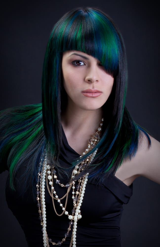 High fashion extreme colors hair by guytang yelp for Guy tang salon