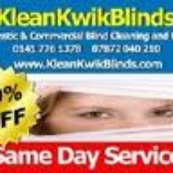 Blind cleaning Glasgow - Klean Kwik…
