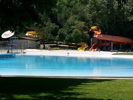 Water slide yelp for Guasti park fishing