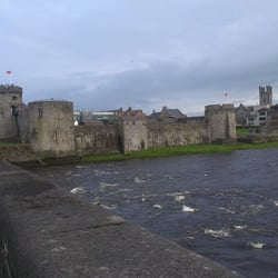 View of the Castle from Thomond Bridge