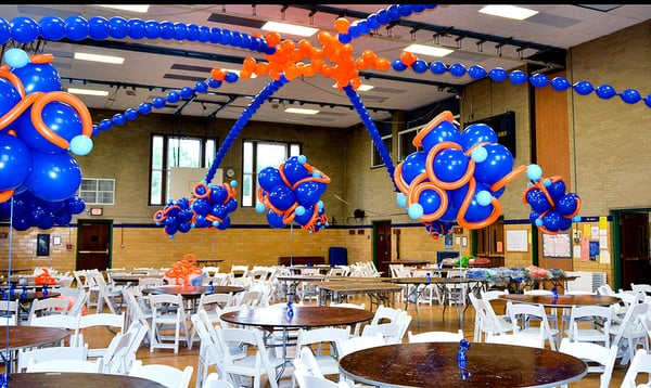 Balloon Centerpieces decoration