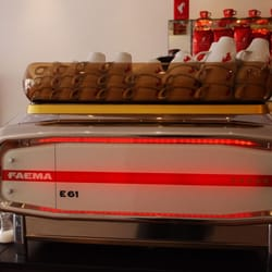 Faema E61: King of Coffee