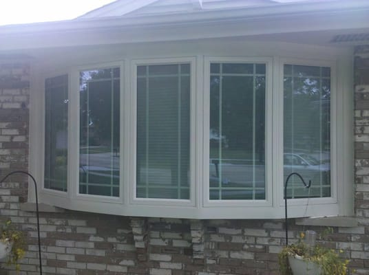 We replaced this schaumburg customer 39 s picture window with for Prairie style window