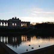 Gloriette at sunset