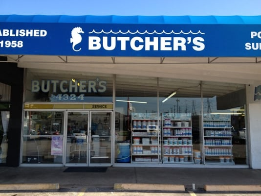 Butcher s swimming pool supply service highland for Buthier piscine
