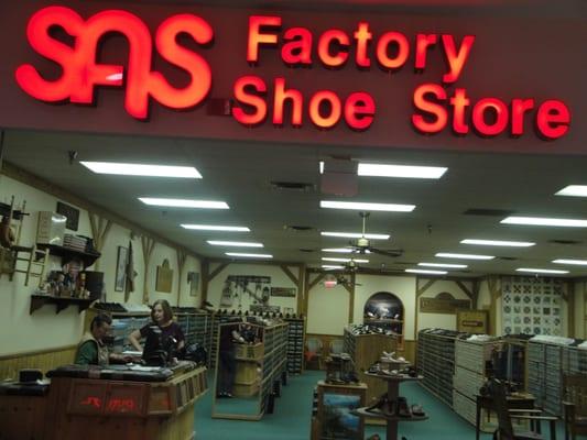 Nearest Sas Shoe Store