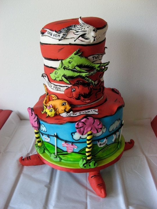 dr seuss themed baby shower cake yelp