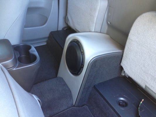 2013 toyota tacoma custom sub enclosure yelp. Black Bedroom Furniture Sets. Home Design Ideas
