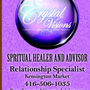 Crystal Visions Psychic Healer   now offers Skype readings