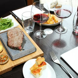 Steak on the stones at Number Twelve! Cook your steak exactly as you like.