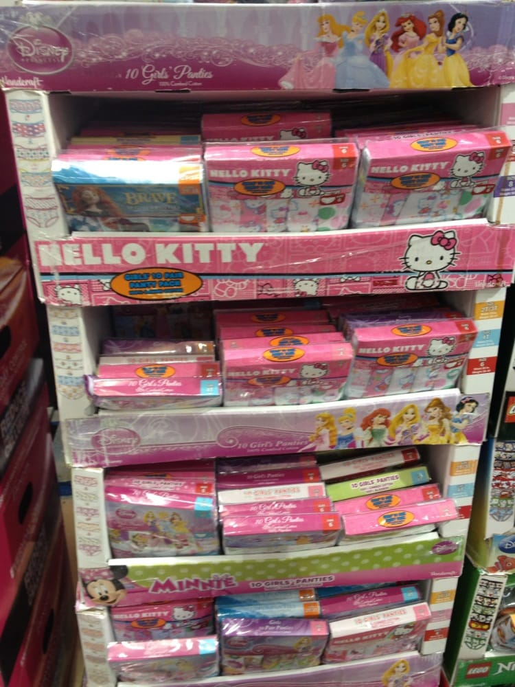 They Carry Hello Kitty And Disney Toddler And Little Girl