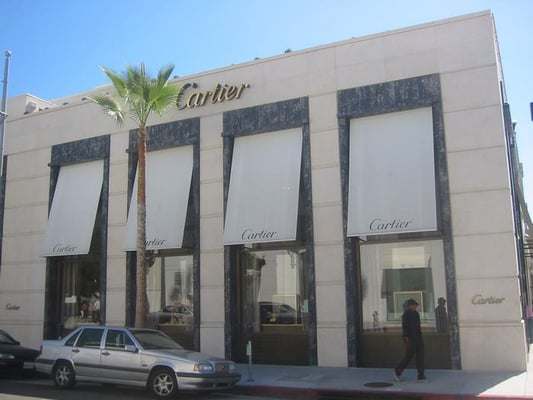 Cartier jewelry beverly hills beverly hills ca for Cartier in beverly hills