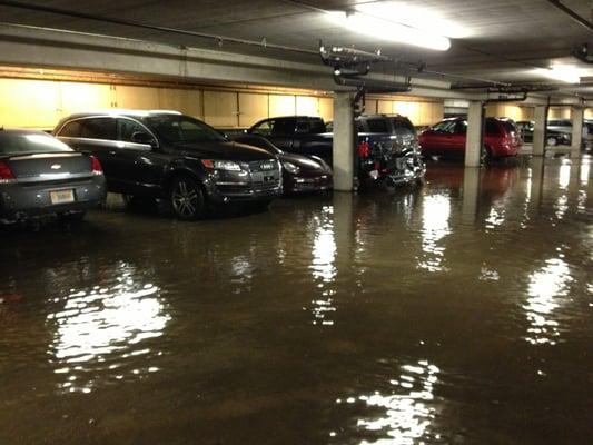parking flood