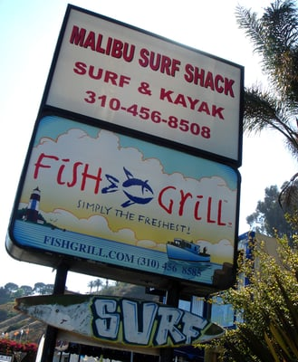 Malibu Fish Grill on Uploaded From Mobile