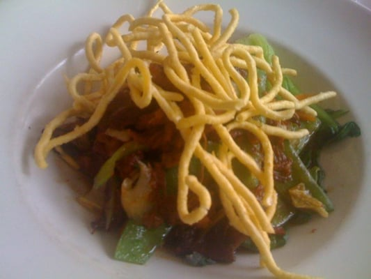 Pork chop suey and crispy noodles | Yelp