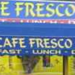 Cafe fresco, Cardiff, UK