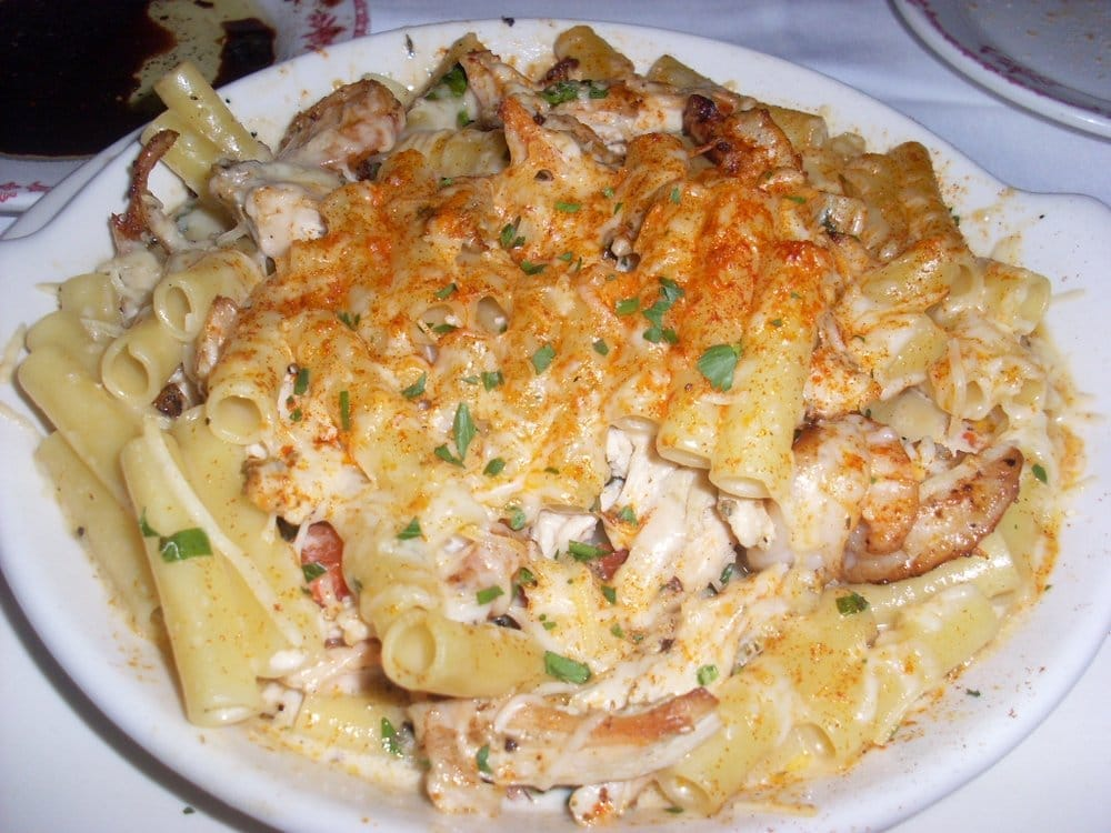 Rustic Chicken and Shrimp pasta | Yelp