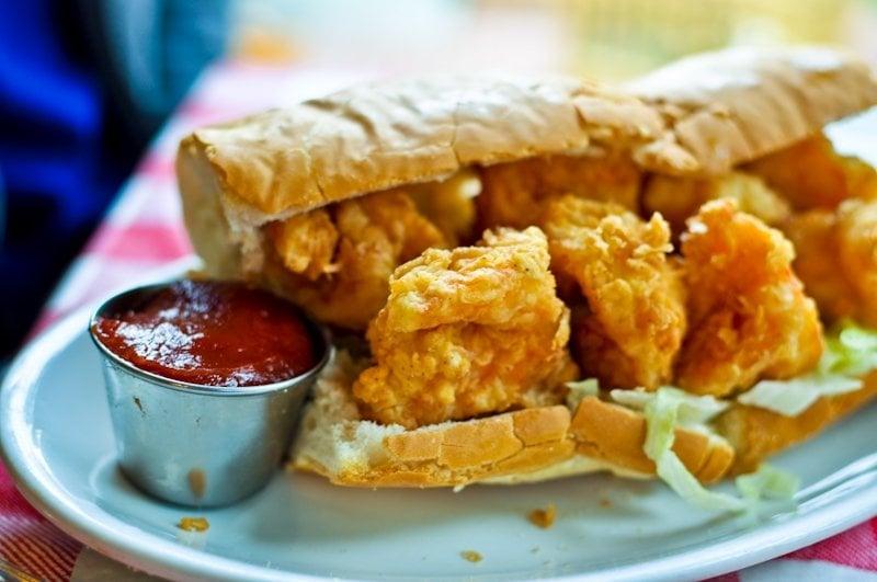Shrimp Po-Boy Sandwich | Yelp