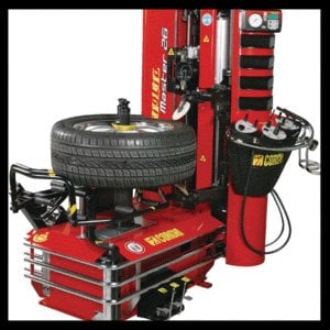 tire installer machine