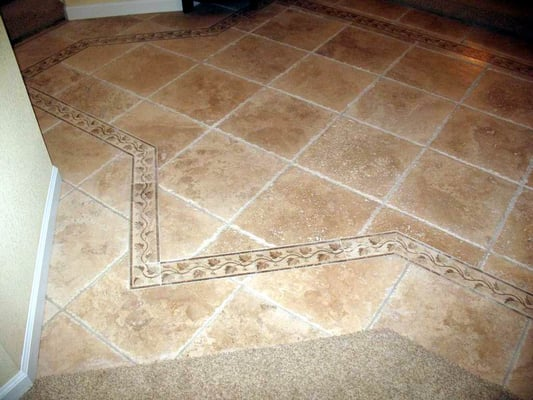 Custom Tiled Entryway | Yelp