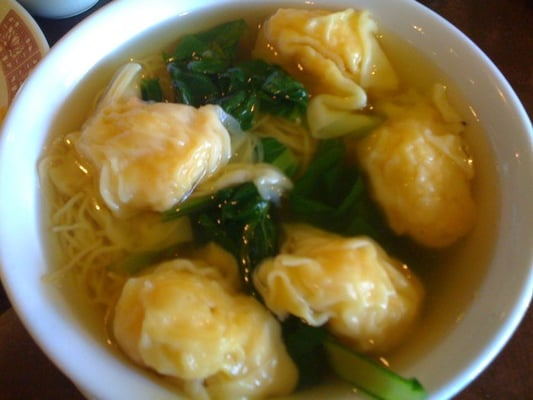 Shrimp wonton noodle soup | Yelp