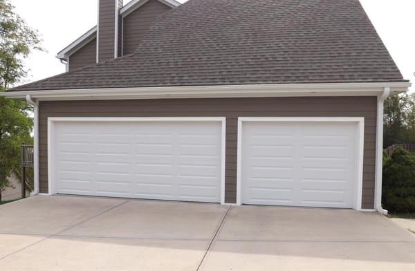premium series clopay garage doors to complete exterior