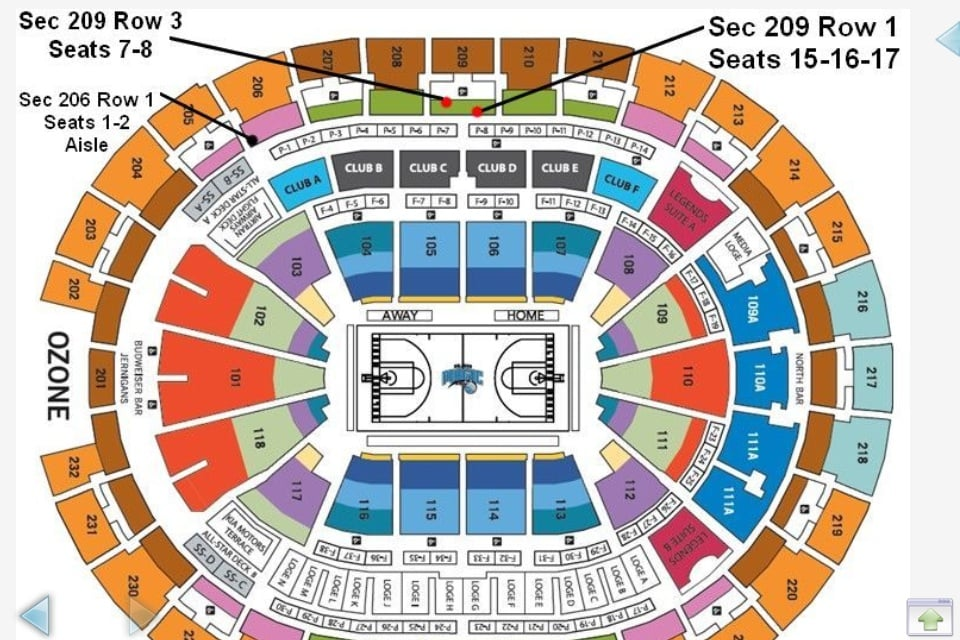 Seating Chart At Amway Center Call Or Text Me If