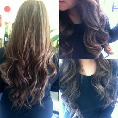 Dirty Blonde Hair With Dark Brown Highlights Went from dark brown to ...