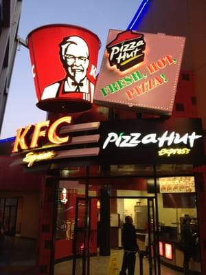 pizza hut kfc essay But then, pizza hut malaysia is part of kfc and strategically, this is a niche over second generation type of restaurant practiced by domino's pizza (founded in 1960, domino's pizza operates a network of 6,652 owned and franchised stores in the united states and 64 international markets.