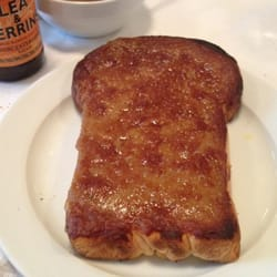 Welsh Rarebit.  Nice strong flavor to it.