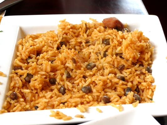 Arroz con gandules (rice with pigeon peas) | Yelp