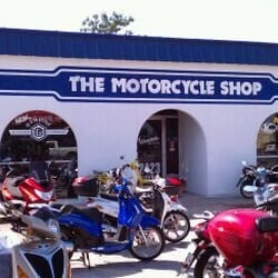 Motorcycle Shop The logo