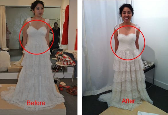 photo what with dress after