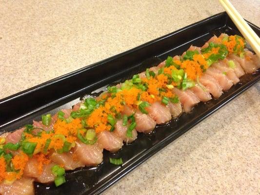 Made my own albacore sashimi fresh fish from sunh fish for Where to buy sashimi grade fish near me