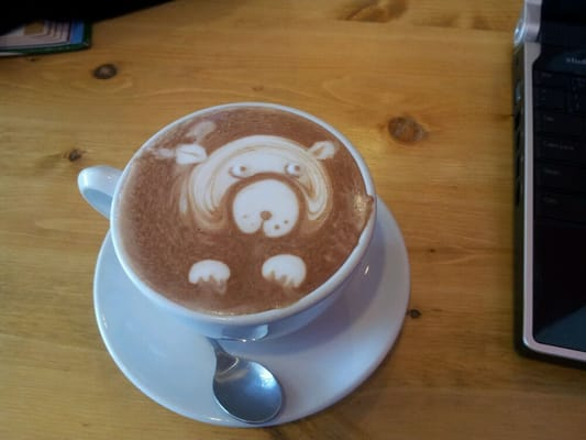 Pedo bear in my hot chocolate.533
