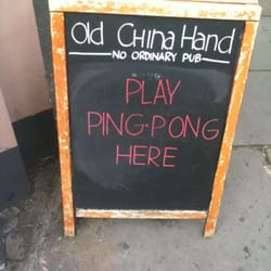 Old China Hand, London