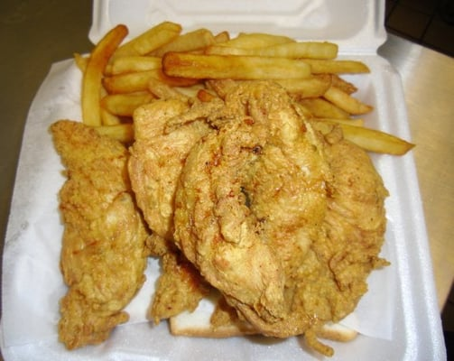 Shark s fish chicken closed macon ga yelp for Sharks fish and chicken near me