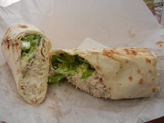 tuna fish wrap | Yelp