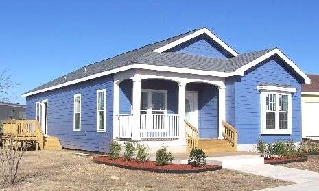 Modular home modular homes cabin style for Cottage style manufactured homes