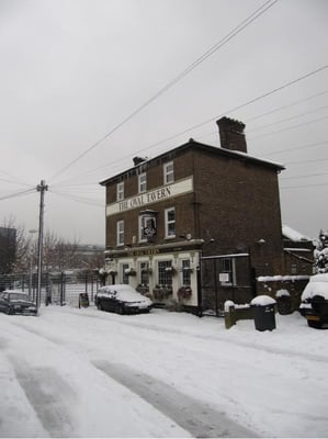 The Oval tavern. Photo Winter 2010/11