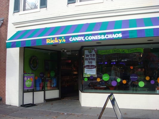 Ricky S Candy Cones And Chaos CLOSED Candy Stores Princeton NJ Yelp