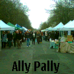 Alexandra Palace farmers market, London