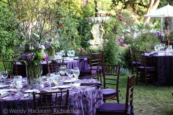 Enchanted Garden Themed Wedding