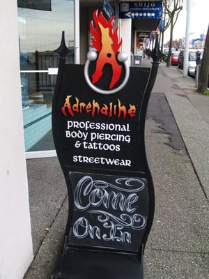 Adrenaline mijn tattoo tekst armed with a mind spreekt wel for Inkslingrz professional tattoos and body piercing