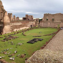 The baths of the roman forum