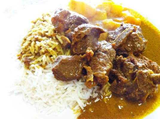 Curry Goat & Rice | Yelp
