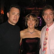 Tom Hanks, hot French babe & me @ George V