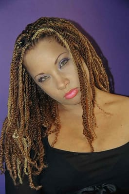 long twists with weave 2015 - Short Hairstyles Website