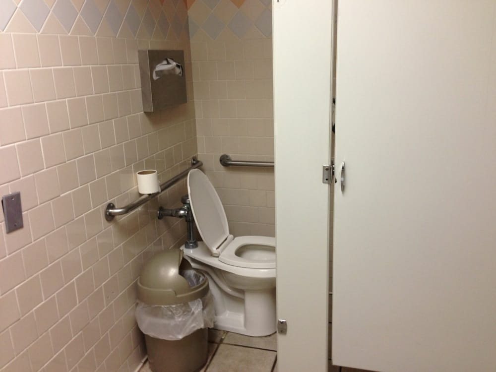 Bathroom stall door locks
