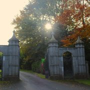 Gates to walk through towards Howth Castle